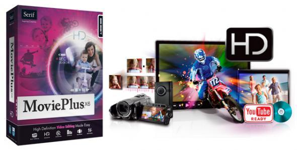 Serif MoviePlus X6 v8.0.1.18 - редактирования видео, запись на DVD или Blu-ray диски