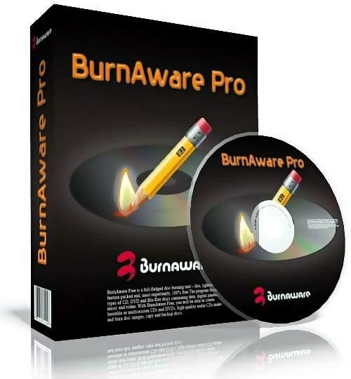 скачать BurnAware Professional 9.2 RePack & Portable