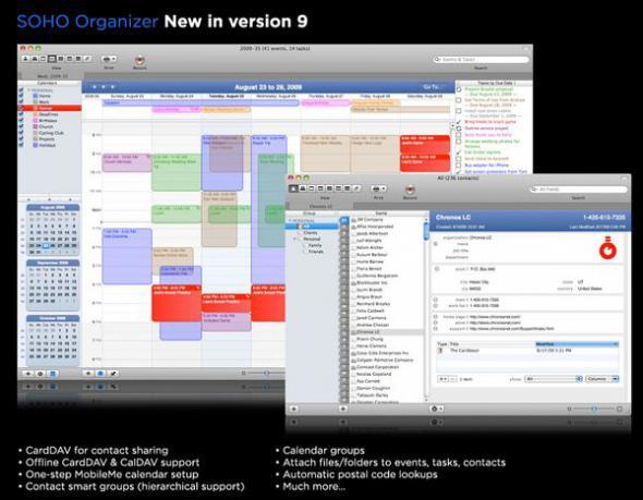 скачать SOHO Organizer 9.2.3 для Mac OSX