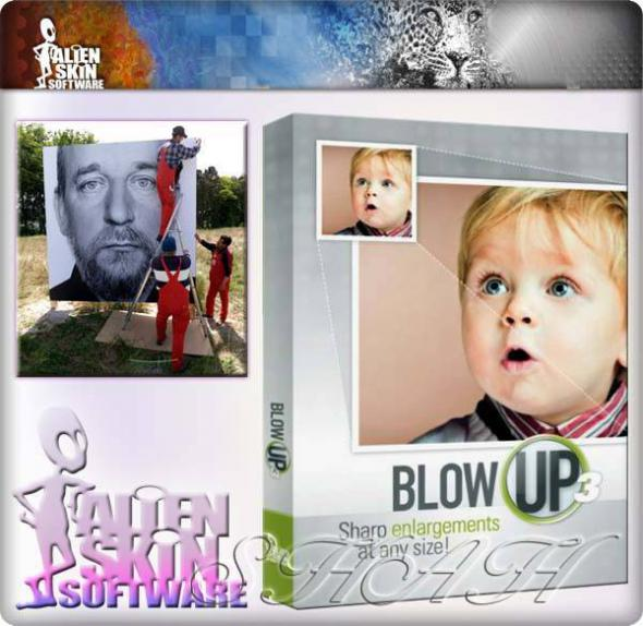 Alien Skin Blow Up 3.0.0.672 for Photoshop (32/64 bit) плагин