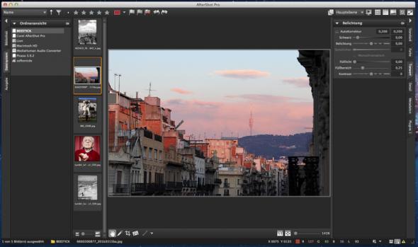 Corel AfterShot Pro 1.0.1.10 для Mac OS X