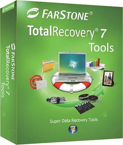 FarStone TotalRecovery Tools 7.1.2 build 20111118 - резервное копирование