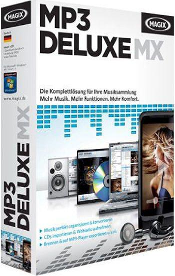 скачать MAGIX MP3 deluxe MX 18.01 Build 112