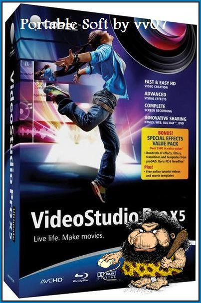 Portable Corel VideoStudio Pro X5 15.0.0.258(x32) - для обработки видео