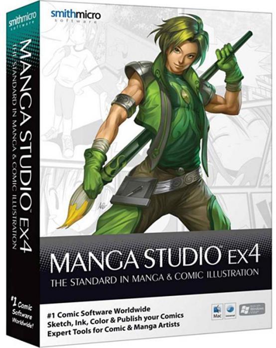 Smith Micro Manga Studio EX v4.0.0