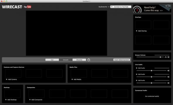 Wirecast Pro 4.1.4 - запись потокового видео